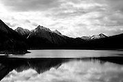Medicine Lake in Jasper National Park