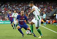 Barcelona v Real Betis - 20 Aug 2017