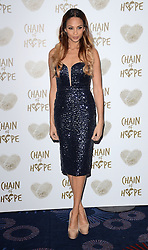 Alesha Dixon attends The Chain Of Hope Ball at The Grosvenor House Hotel on Friday 21st November 2014