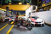 Peter HICKMAN, GBR, Aspire-Ho by Bathams Racing BMW S 1000 RR, Augusto FARFUS Jnr., BRA, BMW Team Schnitzer BMW M6 GT3, Daniel TICKTUM, GBR, Motopark Academy Dallara-Volkswagen, Esteban GUERRIERI, ARG, ALL-INKL.COM Münnich Motorsport Honda Civic TCR<br /> <br /> 65th Macau Grand Prix. 14-18.11.2018.<br /> Suncity Group Macau Motorcycle Grand Prix - 52nd Edition.<br /> Macau Copyright Free Image for editorial use only