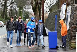 Rochdale fans arrive at Spotland Stadium - Mandatory byline: Matt McNulty/JMP - 06/12/2015 - Football - Spotland Stadium - Rochdale, England - Rochdale v Bury - FA Cup