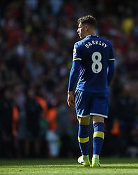 Everton's Ross Barkley at full time