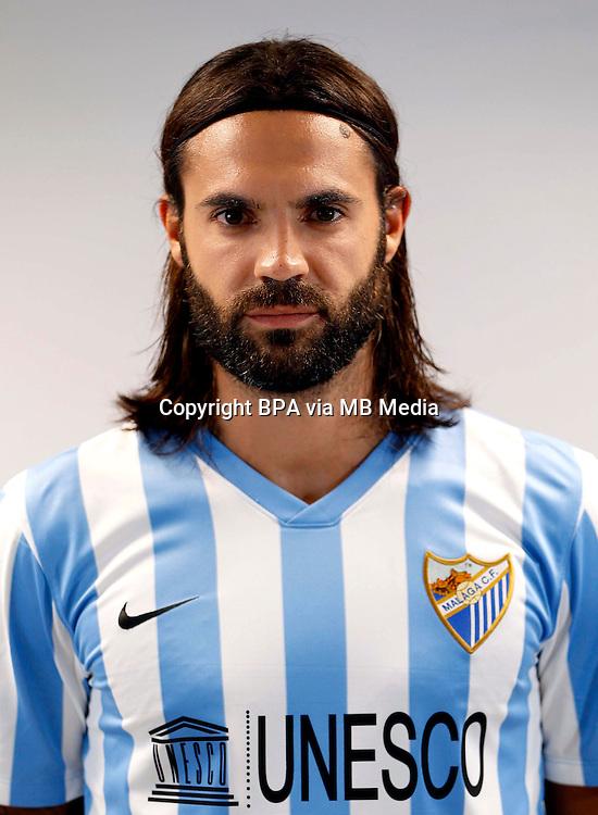 Spain - La Liga BBVA  2014-2015 / <br /> ( Malaga C.F. ) - <br /> Sergio Sanchez Ortega