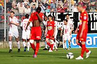 FOOTBALL - FRENCH CHAMPIONSHIP 2009/2010 - L1 - LE MANS UC v LILLE OSC - 24/04/2010 - PHOTO ERIC BRETAGNON / DPPI -  JOY LILLE