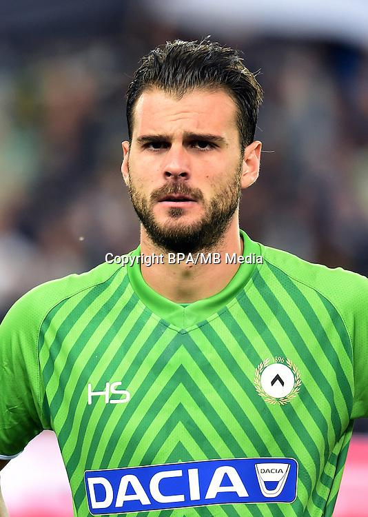 Italian League Serie A -2016-2017 / <br /> ( Udinese Calcio ) - <br /> Orestis Spiridon Karnezis &quot; Orestis Karnezis &quot;