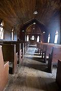 St. John's Church, site of William SKiles tomb, in VAlle Crucis, NC.