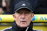 Picture by Paul Chesterton/Focus Images Ltd +44 7904 640267.03/11/2012.Stoke Manager Tony Pulis before the Barclays Premier League match at Carrow Road, Norwich.