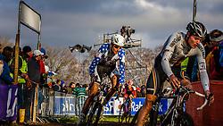 Ryan TREBON (16,USA) 2nd lap at Men UCI CX World Championships - Hoogerheide, The Netherlands - 2nd February 2014 - Photo by Pim Nijland / Peloton Photos