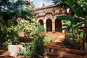 CUBA, HAVANA (VEDADO) Historic mansions, built in the pre-revolutionary period, now in disrepair or restored as embassies