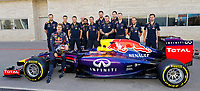 RED BULL team ambiance VETTEL Sebastian (Ger) Red Bull Renault Rb10 ambiance portrait    during the 2014 Formula One World Championship, United States of America Grand Prix from November 1st to 2nd 2014 in Austin, Texas, USA. Photo Frederic Le Floch / DPPI.