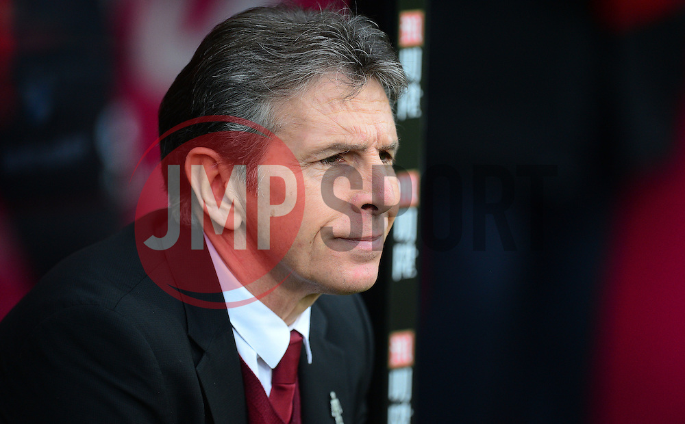 Southampton manager Claude Puel - Mandatory by-line: Alex James/JMP - 18/12/2016 - FOOTBALL - Vitality Stadium - Bournemouth, England - Bournemouth v Southampton - Premier League
