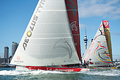 Volvo Ocean Race start leg 5.