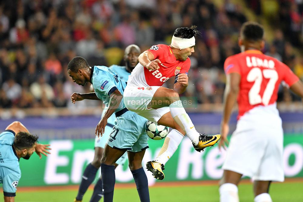 September 26, 2017 - Monaco, France - 09 RADAMEL FALCAO  (Credit Image: © Panoramic via ZUMA Press)