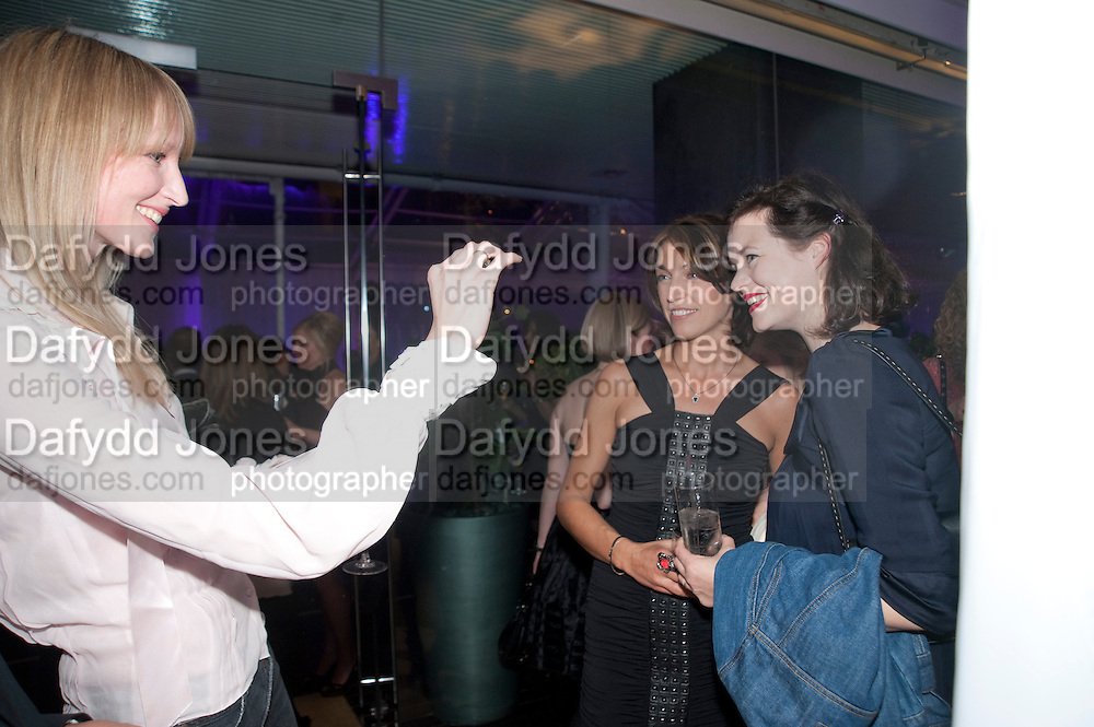 JADE PARFITT; ANASTASIA WEBSTER; JASMINE GUINNESS, An evening at Sanderson to celebrate 10 years of Sanderson, in aid of Clic Sargent. Sanderson Hotel. 50 Berners St. London. W1. 27 April 2010 *** Local Caption *** -DO NOT ARCHIVE-© Copyright Photograph by Dafydd Jones. 248 Clapham Rd. London SW9 0PZ. Tel 0207 820 0771. www.dafjones.com.<br /> JADE PARFITT; ANASTASIA WEBSTER; JASMINE GUINNESS, An evening at Sanderson to celebrate 10 years of Sanderson, in aid of Clic Sargent. Sanderson Hotel. 50 Berners St. London. W1. 27 April 2010