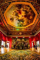 Tapestries, Louvre Museum, Paris, France.