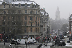 © Licensed to London News Pictures. 22/01/2013.Weather continues to stay cold today (22.01.2013).Big Ben this morning in the freezing fog.. Photo credit : Grant Falvey/LNP