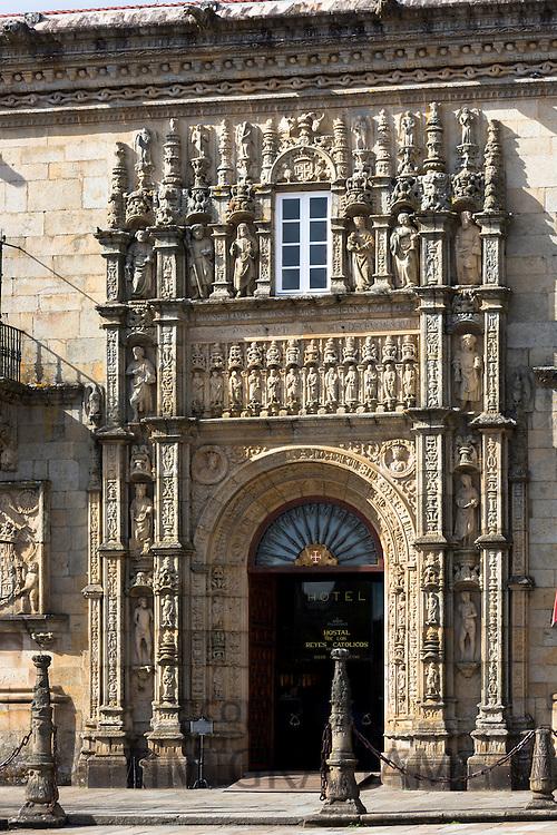 Parador Hostal de Los Reyes Catolicos hotel in Santiago de Compostela, Galicia, Spain