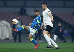 February 21, 2019 - Rome, Italy - SSC Napoli v FC Zurich - UEFA Europa League Round of 32.Lorenzo Insigne of Napoli at San Paolo Stadium in Naples, Italy on February 21, 2019. (Credit Image: © Matteo Ciambelli/NurPhoto via ZUMA Press)