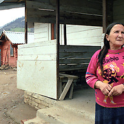 A roma camp in Mitrovice living on the border to Serbia. Both countries reject their stay.