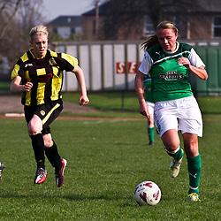 Hutchison Vale v Hibernian | Scottish Women's Premier League | 25 March 2012