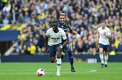 Tanguy NDombele of Tottenham Hotspur runs with the ball - Mandatory by-line: Arron Gent/JMP - 19/10/2019 - FOOTBALL - Tottenham Hotspur Stadium - London, England - Tottenham Hotspur v Watford - Premier League