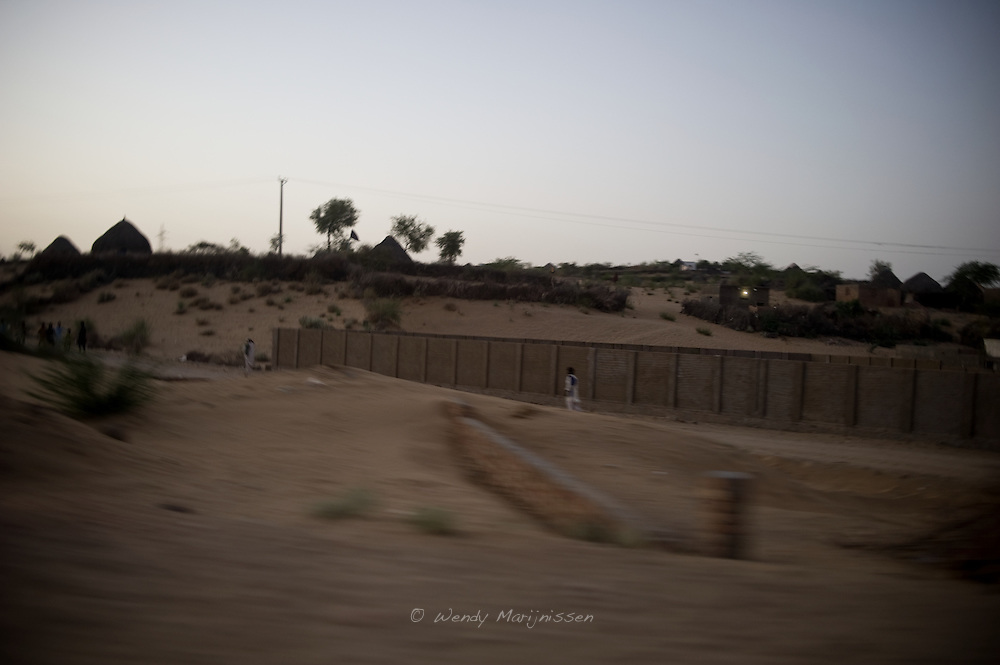 Conditions in the rural desert area of Pakistan are very rough. Most people live in huts and lack basic facilities like electricity and water. <br /> In these parts of Pakistan the maternal and neonatal mortality rates are the highest. Mithi, Tharparkar, Pakistan 2010