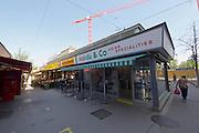 Vienna, Austria. Rochusmarkt. Mandu & Co.