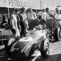 Scuderia Colonia entered the #3 Lotus 18 Climax (chassis #373) driven by Wolfgang von Trips, South African Grand Prix 27 December 1960