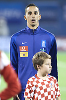 ZAGREB, CROATIA - NOVEMBER 09:  Portrait of Zeca of Greece runs during the FIFA 2018 World Cup Qualifier play-off first leg match between Croatia and Greece at Maksimir Stadium on November 9, 2017 in Zagreb, Croatia. (Sanjin Strukic/PIXSELL)