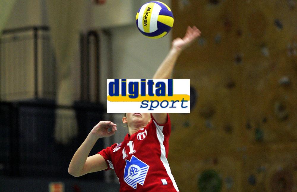 Volleyball<br /> Eliteserien kvinner<br /> Koll v Blindheim 3-0<br /> 04.11.2006<br /> Foto: Morten Olsen, Digitalsport<br /> <br /> Ada Furnes - Blindheim