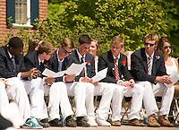 Holderness School Graduation Ceremony May 23, 2010.
