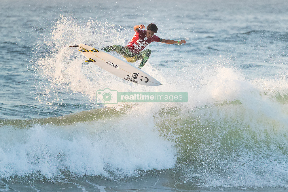 Jul 8, 2017 - KwaDukuza, South Africa - Michael February of South Africa advanced to the Semifinals of the Ballito Pro presented by Billabong after winning Quarterfinal Heat 1 at Willard Beach, Ballito, South Africa. (Credit Image: © Kelly Cestari via ZUMA Wire)