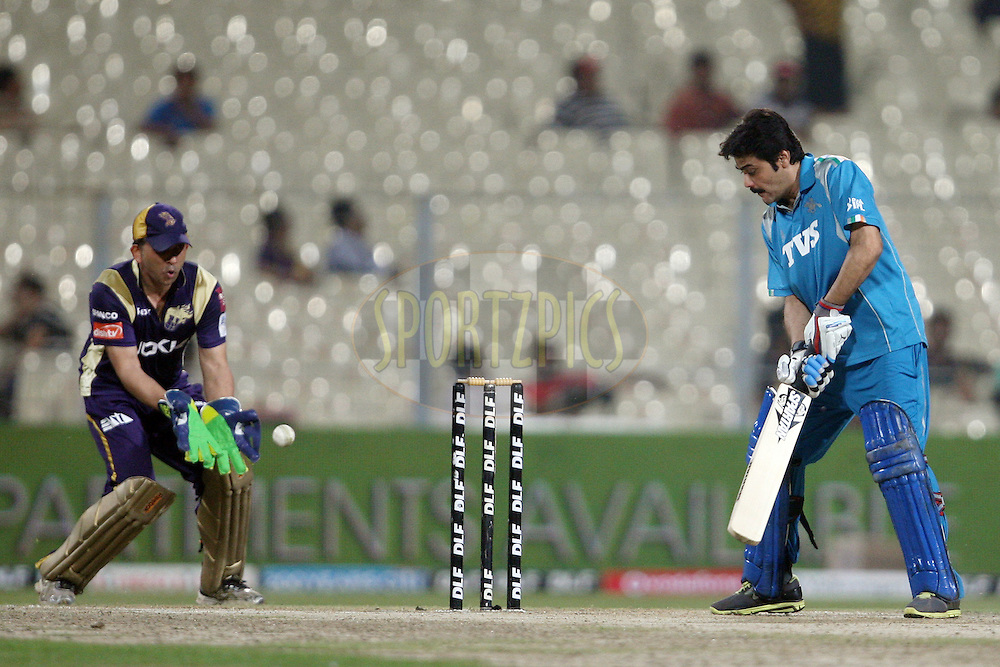 Action during a match of the the Indian Premier League ( IPL) 2012  between The Kolkata Knight Riders Owners and The Pune Warriors India Owners held at the Eden Gardens Stadium in Kolkata on the 5th May 2012..Photo by Jacques Rossouw/IPL/SPORTZPICS