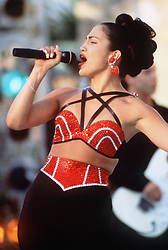 Mar 21, 1997; Hollywood, CA, USA; JENNIFER LOPEZ as Selena Quintanilla in the musical drama ''Selena'' directed by Gregory Nava.  (Credit Image: © Courtesy of Esparza/Katz Prod./Entertainment Pictures/ZUMAPRESS.com)