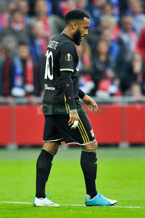 May 3, 2017 - Amsterdam, France - 10 ALEXANDRE LACAZETTE (ol) - DECEPTION (Credit Image: © Panoramic via ZUMA Press)