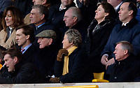 Photo: Glyn Thomas.<br />Wolverhampton Wanderers v Manchester United. The FA Cup. 29/01/2006.<br /> United's manager Sir Alex Ferguson (bottom R) watches the game from up in the stands.