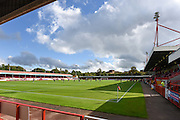 The Checkatrade.com Stadium before the EFL Sky Bet League 2 match between Crawley Town and Blackpool at the Checkatrade.com Stadium, Crawley, England on 1 October 2016. Photo by David Charbit.