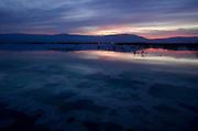 Israel, Dead Sea at dawn