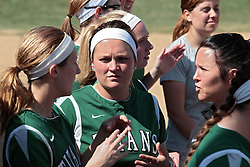 09 May 2014:   during an NCAA Division III women's softball championship series game between the Lake Forest Foresters and the Illinois Wesleyan Titans in Bloomington IL