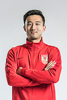 **EXCLUSIVE**Portrait of Chinese soccer player Xiao Yufeng of Changchun Yatai F.C. for the 2018 Chinese Football Association Super League, in Wuhan city, central China's Hubei province, 22 February 2018.