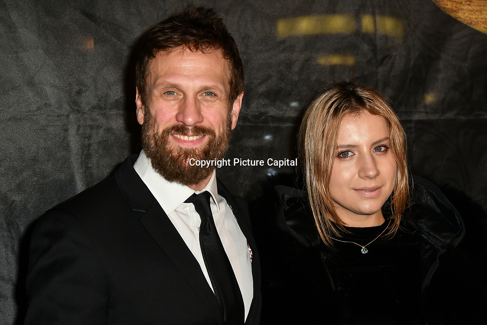 Simon Merrells, Alexandria Sands Arrivers at The Gold Movie Awards at Regent Street Cinema on 10 January 2019, London, UK.