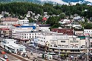 Town of Ketchikan, Alaska, AK, USA