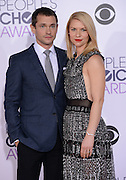 CLAIRE DANES + HUGH DANCYat  the People's Choice Awards 2016 held at the ©Exclusivepix Media