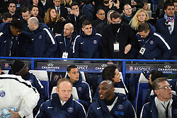 09.03.2016, Stamford Bridge, London, ENG, UEFA CL, FC Chelsea vs Paris Saint Germain, Achtelfinale, Rueckspiel, im Bild verratti marco // during the UEFA Champions League Round of 16, 2nd Leg match between FC Chelsea vs Paris Saint Germain at the Stamford Bridge in London, Great Britain on 2016/03/09. EXPA Pictures © 2016, PhotoCredit: EXPA/ Pressesports/ LAHALLE PIERRE<br /> <br /> *****ATTENTION - for AUT, SLO, CRO, SRB, BIH, MAZ, POL only*****