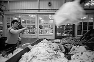 Prestwich Hospital Laundry, Manchester. 20/01/86.