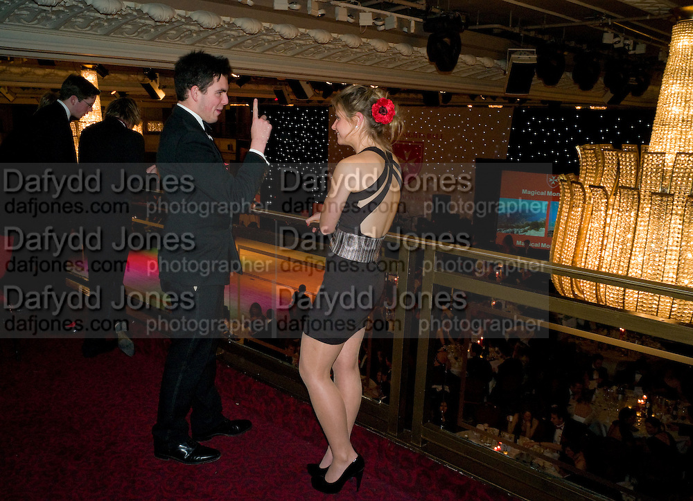 MAX MCKECHNIE; LAURA DEAN, The 30th White Knights charity  Ball.  Grosvenor House Hotel. Park Lane. London. 10 January 2009 *** Local Caption *** -DO NOT ARCHIVE-© Copyright Photograph by Dafydd Jones. 248 Clapham Rd. London SW9 0PZ. Tel 0207 820 0771. www.dafjones.com.<br /> MAX MCKECHNIE; LAURA DEAN, The 30th White Knights charity  Ball.  Grosvenor House Hotel. Park Lane. London. 10 January 2009