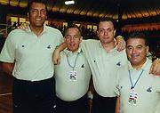 Torneo Bormio Agosto 2000<br /> dino meneghin, andrea billi, sandro galleani