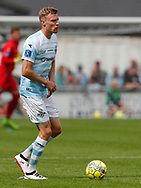 FODBOLD: Andreas Holm (FC Helsingør) under kampen i ALKA Superligaen mellem FC Helsingør og FC Midtjylland den 6. august 2017 på Helsingør Stadion. Foto: Claus Birch