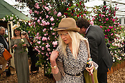 CLAUDIA LEIGH; JO WOOD Press and VIP viewing day. Chelsea Flower show, Royal Hospital Grounds. Chelsea. London. 18 May 2009