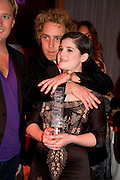 JAMES BROWN AND KELLY OSBORNE, Glamour magazine Women of the Year Awards. Berkeley Sq. London. 3 June 2008 *** Local Caption *** -DO NOT ARCHIVE-© Copyright Photograph by Dafydd Jones. 248 Clapham Rd. London SW9 0PZ. Tel 0207 820 0771. www.dafjones.com.